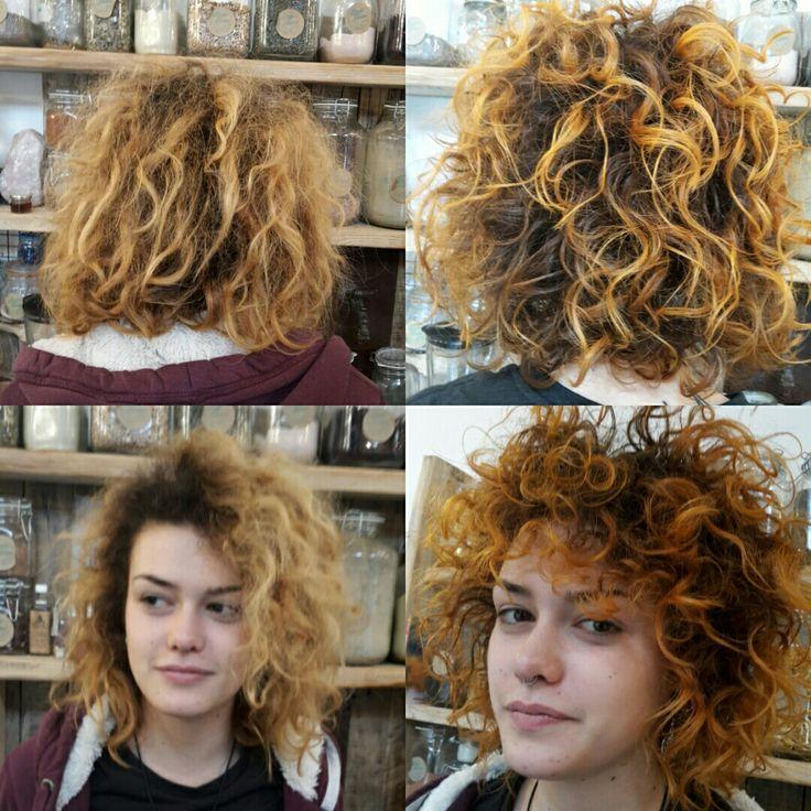 Colorazione biondo rame by Hair Kitchen