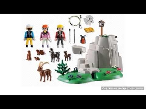 Скалолазы и горные животные Playmobil