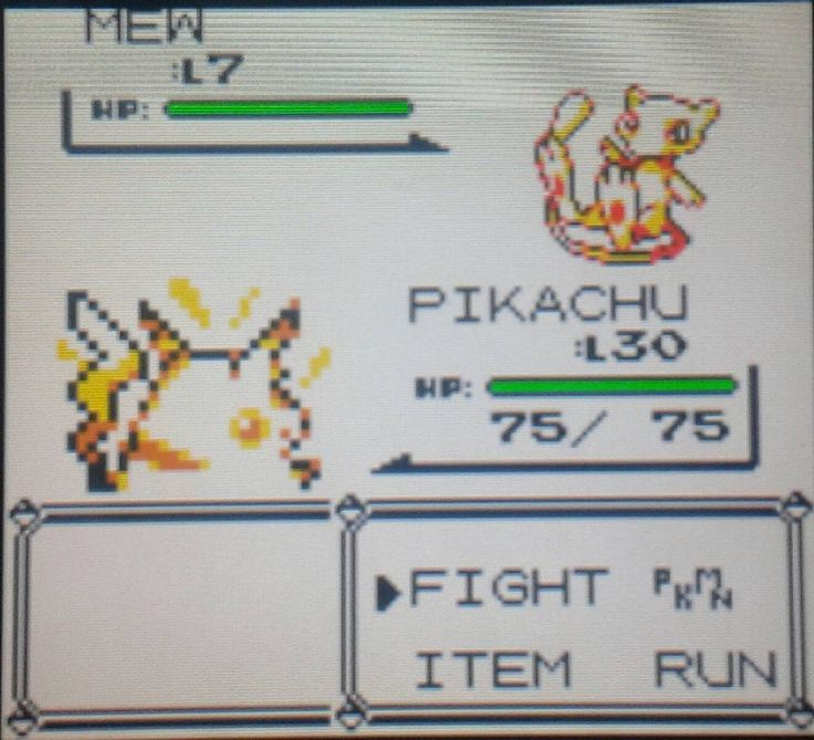 "You'd like this one by greninja89 #gameboy #microhobbit (o) http://ift.tt/1Ldj7Sf first time succussfully completing the famous ""Mew Glitch"" #BetterLateThanNever #PokemonYellow #SpecialPikachuEdition #Nintendo #3DS #GameBoy #VirtualConsole"