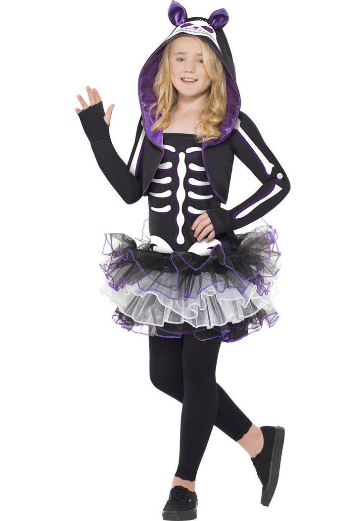 Kids+Skelly+Cat+Costume,+Cute+Skeleton+Fancy+Dress+for+Girls+-+Halloween+Costumes+at+Escapade™+UK+-+Escapade+Fancy+Dress+on+Twitter:+@Escapade_UK