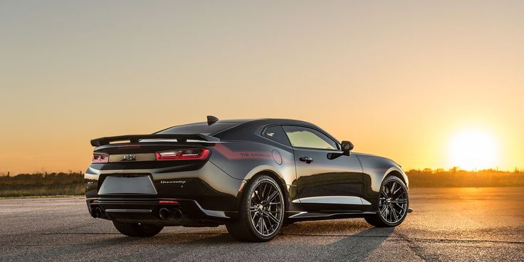 Hennessey Just Built a 1000-HP Camaro ZL1 to Challenge the Demon