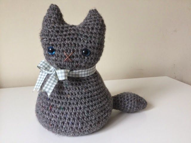 Crochet Moggy Cat - Free Pattern