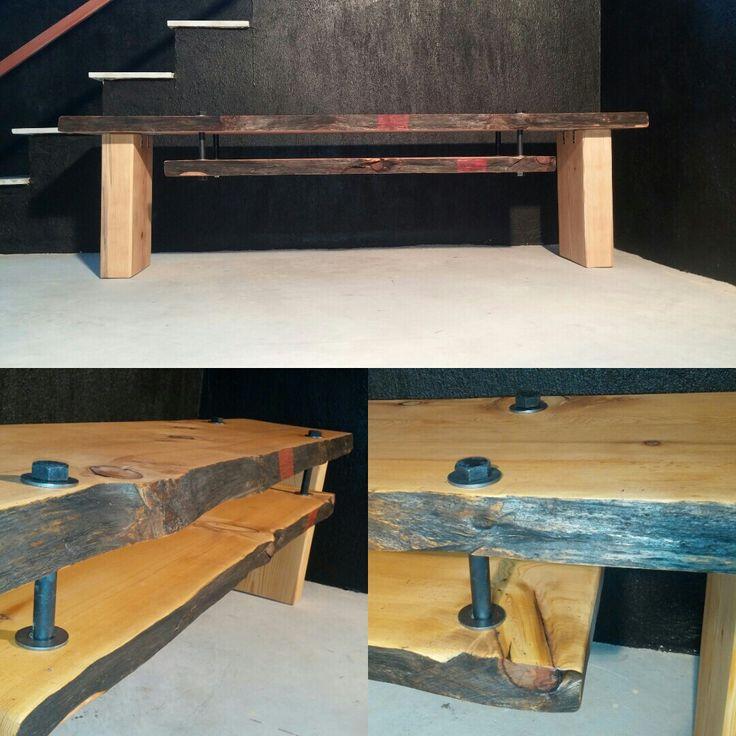 Sedir masif ahşap tv ünitesi. / Cedar wooden tv unit