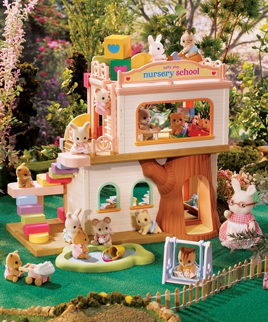 Take a look at this Baby Play Nursery School Set by Calico Critter on #zulily today!