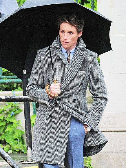 Star Tracks: Friday, May 15, 2015 | UNDER MY UMBRELLA | The rain doesn't stop Eddie Redmayne from looking dapper as ever as he poses for a photo shoot in London on Thursday.
