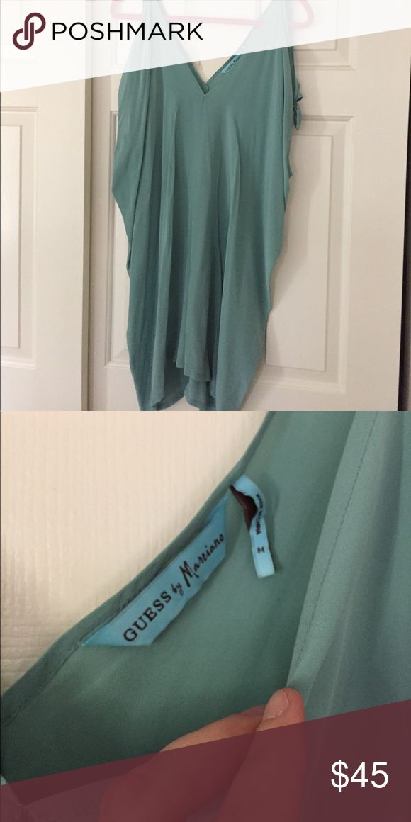 Guess Marciano Dress Worn one time. In excellent condition. Very flowy fit runs larger. Guess by Marciano Dresses Midi