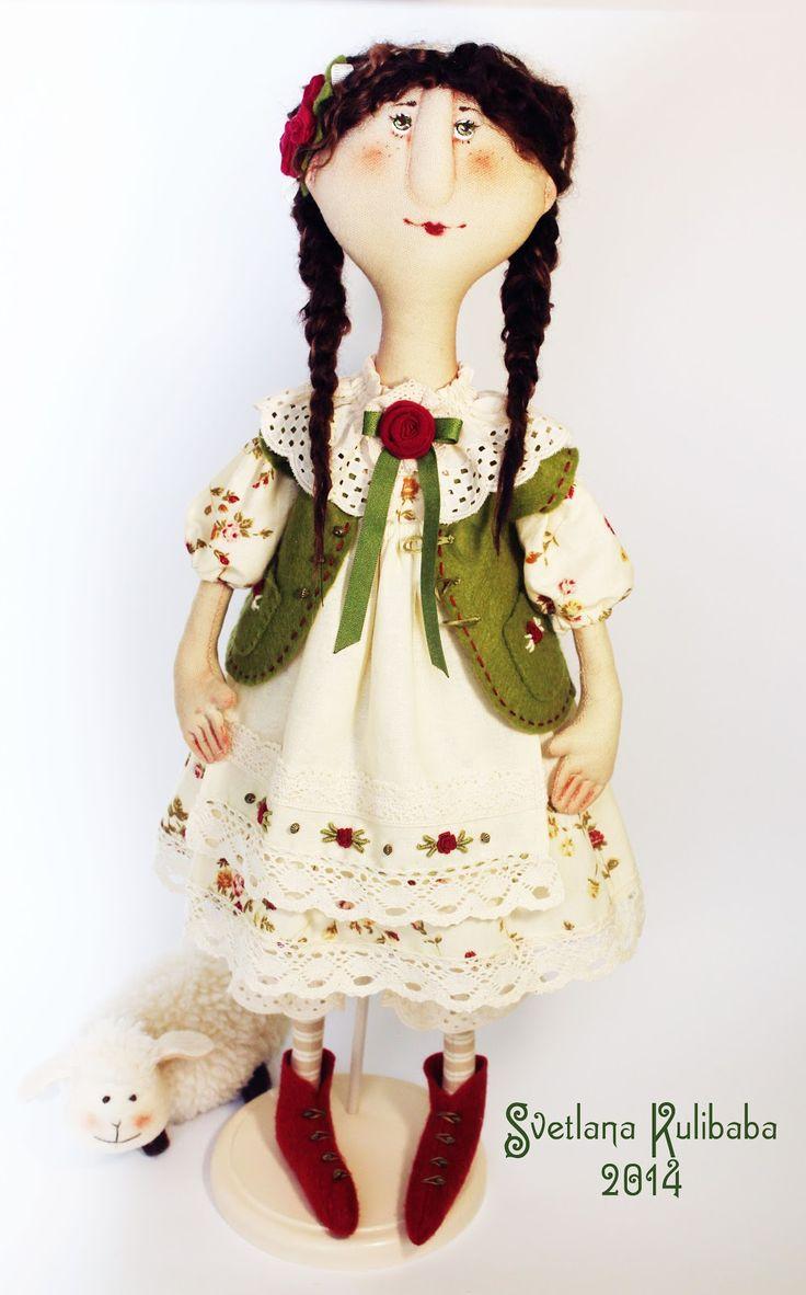 Жили - были куклы веселушки : Пастушка