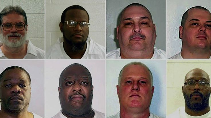 The state of Arkansas is planning to execute eight men within a 10-day period in April, which would be an unprecedented rate of executions in modern U.S. history. Arkansas has suspended executions since 2005, amid challenges in acquiring lethal injection drugs and lawsuits over the drugs used. Arkansas says it is rushing the executions because the state's supply of the sedative midazolam will soon expire. Midazolam has been linked to painful, botched executions in Alabama and other states…