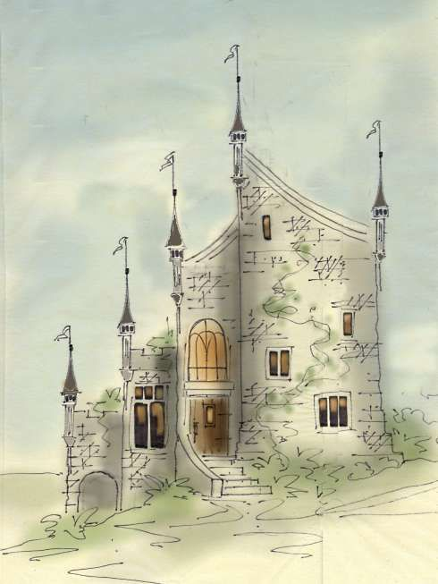 Storybook Cottage House Plans Lostroh Castle Plans With