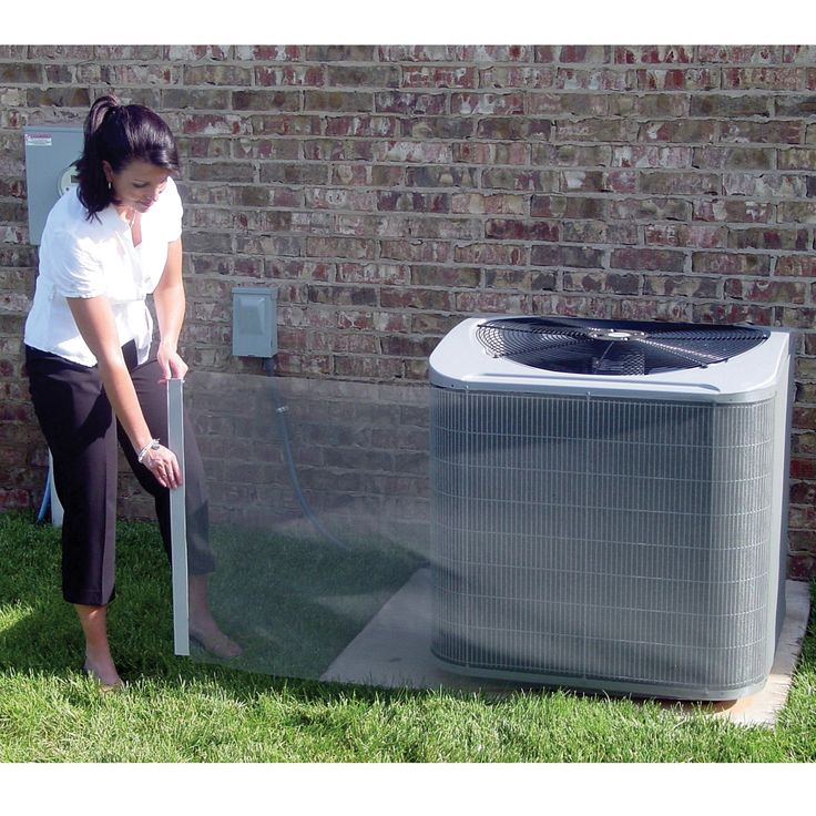 Ease the work of your air conditioner Obstructed coils can make your compressor run longer and work harder, increasing your electric bill and shortening the life of the unit. The Kleen Screen Kit easily wraps around your A/C unit, filtering clogging debris out, including animal hair, grass, flower petals, dandelion, or even hail! One size easily attaches through two magnetic tracks and security straps, and it can be trimmed to fit. To clean, simply brush off or lightly rinse. Mesh filter…