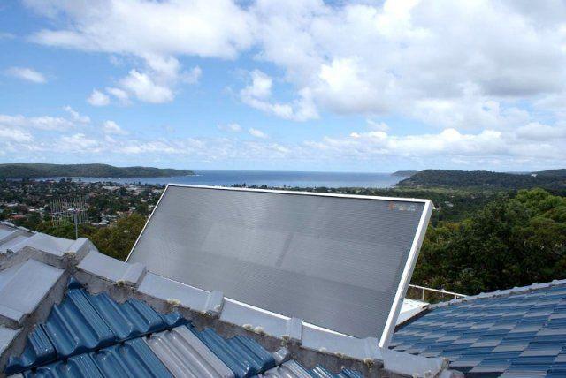 SolarVenti unit installed on a tile roof in beautiful Umina! #solarventiau #solarventi #solair