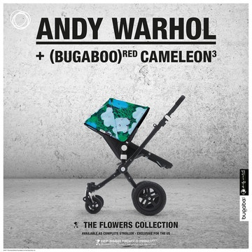 Fab.com | Andy Warhol + Bugaboo Cameleon³
