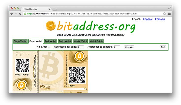 a practical guide to creating bitcoin paper wallets bitcoin how to s pinterest bitcoin wallet