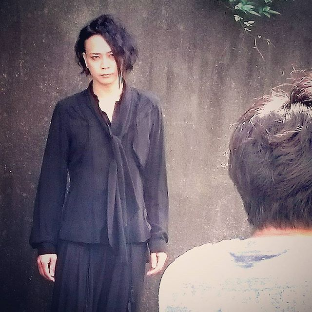 MUCC.Tatsuro Roen本、撮影。