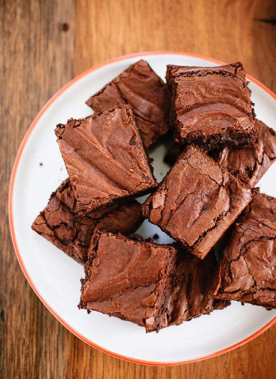 Rich and fudgy homemade brownies made from scratch- cookieandkate.com