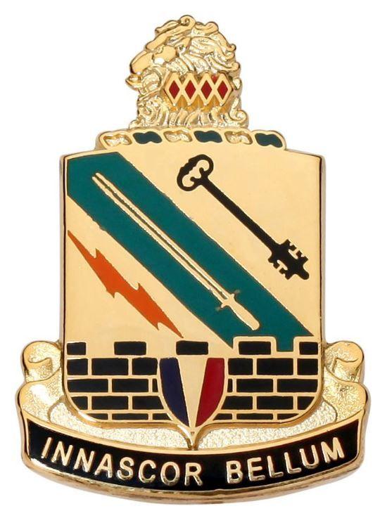 ARMY UNIT CREST, SPECIAL TROOPS BATTALION 42ND INFANTRY DIVI...