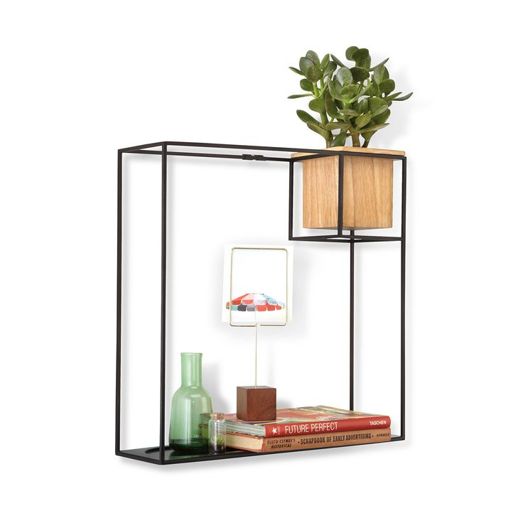 Could we use a few of these or something similar in the entryway to put keys, etc? One Squared Wall Shelf   dotandbo.com $39