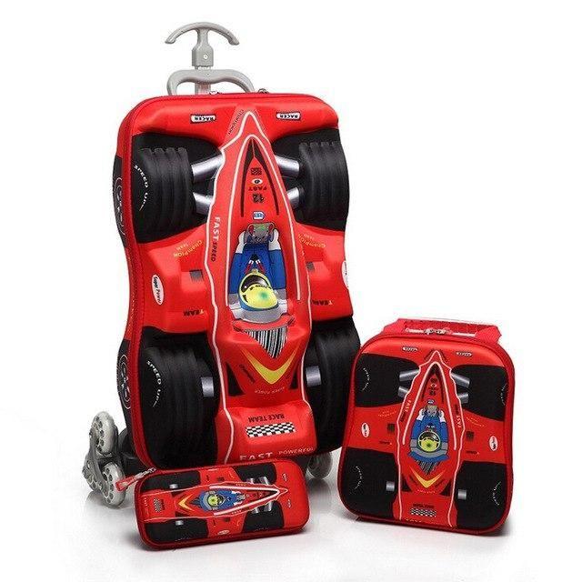 Marvel Spiderman Trolley Suitcase Kids Travel Luggage Bag Case 3PCS//set New Kids suitcase