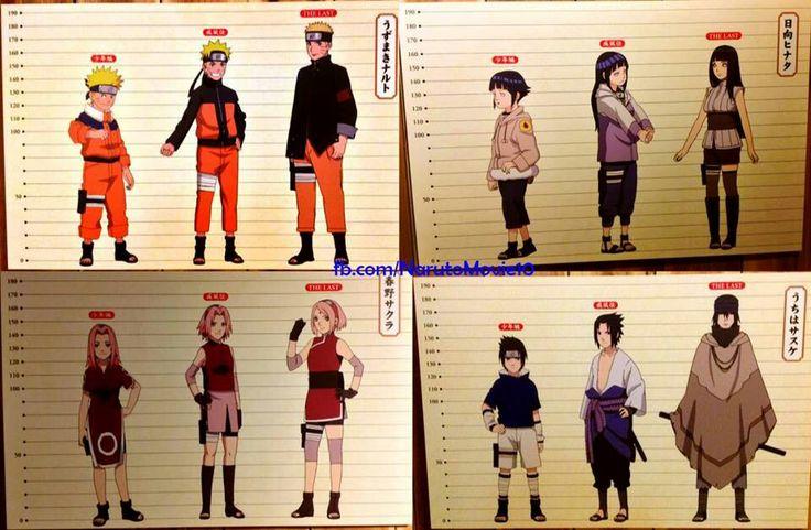 Naruto Character Change Part 1