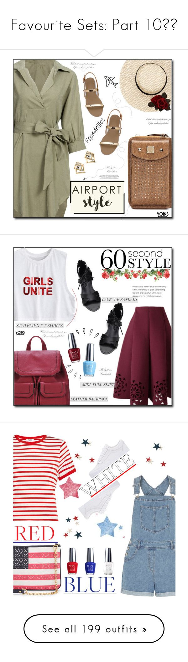 """""""Favourite Sets: Part 10❣️"""" by moon-crystal-wolf ❤ liked on Polyvore featuring Summer, espadrilles, airportstyle, summervibes, OPI, Old Navy, Vans, Dorothy Perkins, Miss Selfridge and Draper James"""