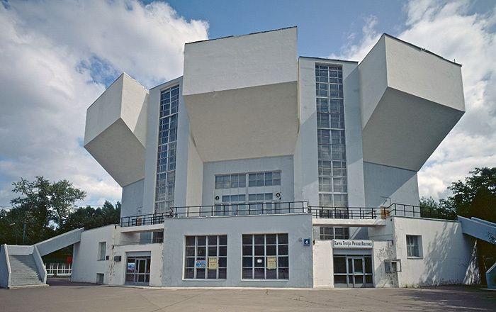 дом культуры имени и. в. Русакова, Константин Мельников, 1928