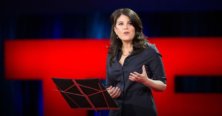 Monica Lewinsky TED filmed Mar 2015 The Price of Shame.  (cyber bullying, pubic humiliation, surviving)