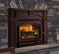 Quadra-fire's Voyager Grand wood-burning insert