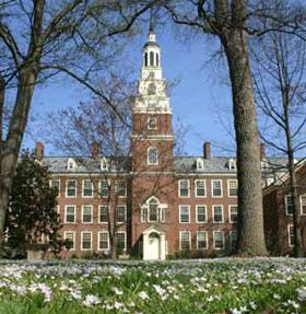 Draper Hall in the spring, Berea College,Berea, KY