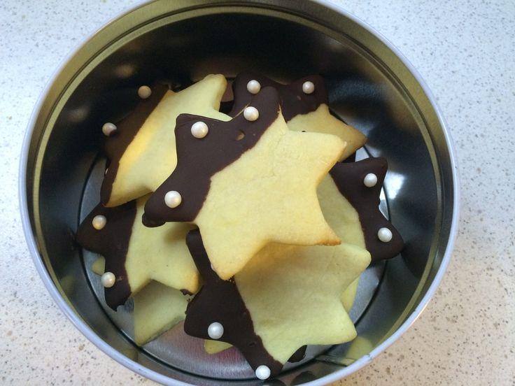 Stelline al burro #biscottinatale #cookies #buttercookies