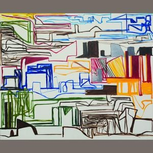 Ken Whisson (born 1927) Landscape Marks No. 10, 1992
