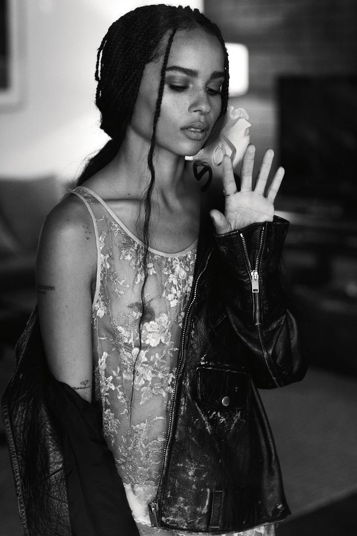 Singer, actor and style icon Zoë Kravitz has emerged from her parents' shadows and is fast becoming one to watch in her own right. Here she opens up to i-D.