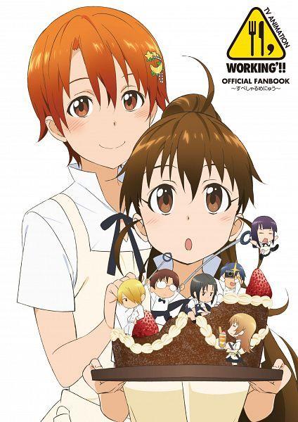 Working!!_Inami_Popura   Wagnaria!!   Pinterest   Anime ...