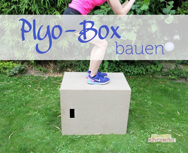 Plyo Box selber bauchen! Leicht gemacht mit dieser Bau-Anleitung. Mit einer Plyo Box kannst du ruckzuck deine Sprungkraft, Fitness und Ausdauer verbessern!