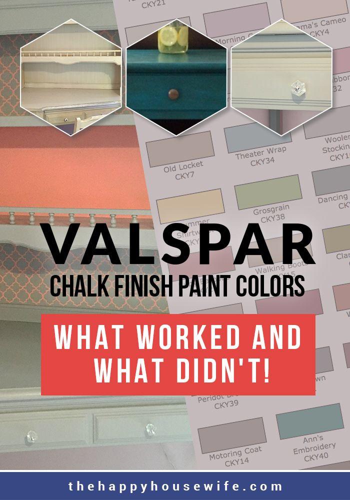 Lowes Valspar Chalk Paint : lowes, valspar, chalk, paint, Lowes, Valspar, Chalk, Paint, Colors