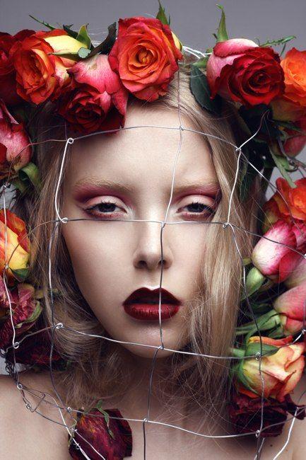 Rose by Anya Kozyreva photograoher / Mua & Hair: Alyona Gorbunova / Model: Lara T.