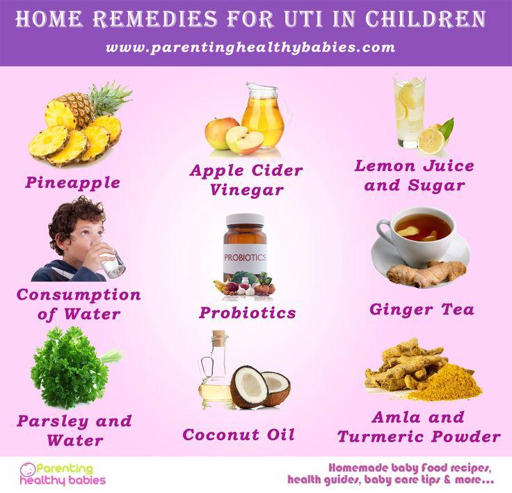 Natural Remedies For Baby Uti