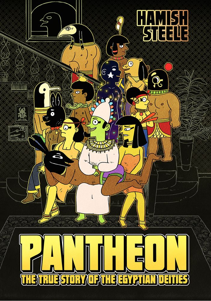 A5   PAGES: 200   Softcover   Good PaperThe most important myth in Ancient Egypt is faithfully retold in glorious black and white with all the gore, sex and swearing left in. Pantheon was funded by KickStarter where it reached 110% of its target goal. It has since received acclaim from comic readers and Egyptologists alike!