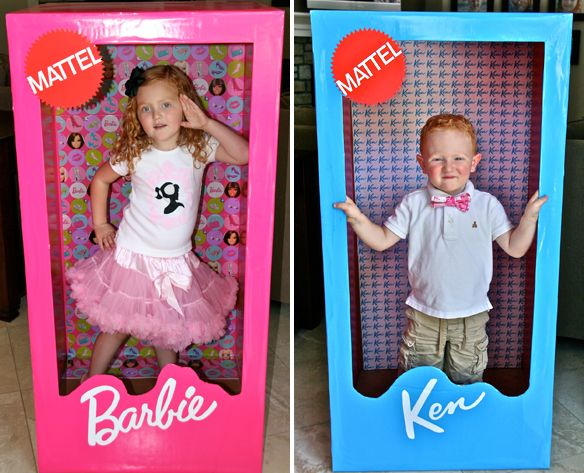 """Barbie Birthday Party via the TomKat Studio Blog."" Look ppl, this family OBVIOUSLY had a good amount of money to be able to do this. BUT.... out of every unrealistic pin, there's always something to learn from it. The parents made these ""photo booths"", as well as the Barbie images on the stage area, as well as on the gift boxes. Awesome concept. j/s -Breezy"