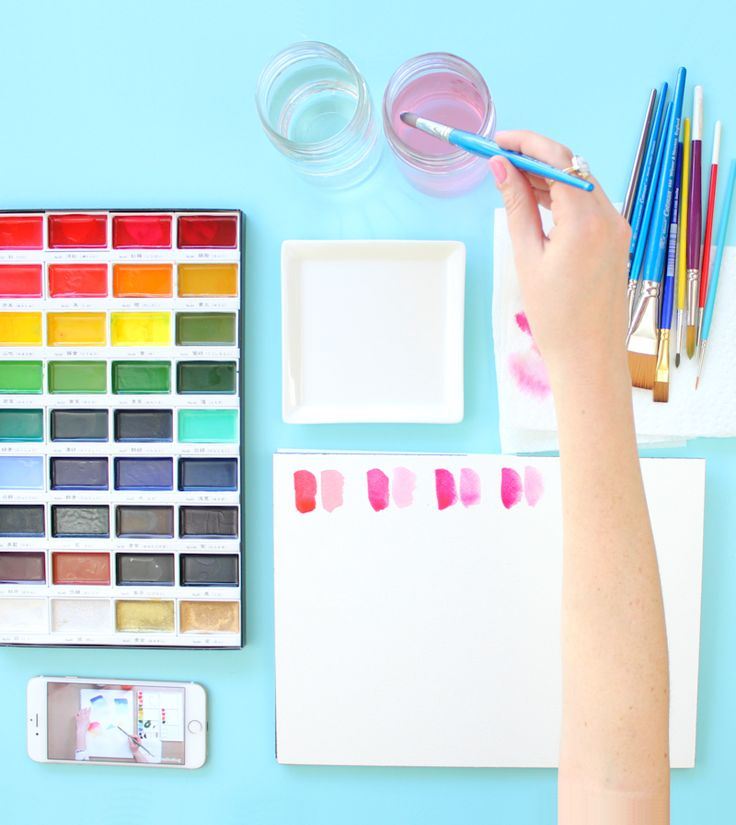 17 best images about art on pinterest summer vacations for Watercolour tips and tricks