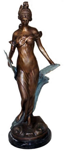 Diana, Goddess of the Hunt Sculpture in Bronze available at AllSculptures.com