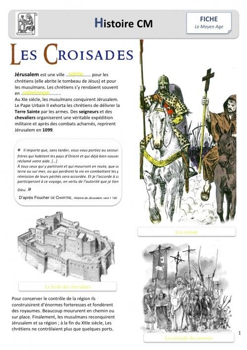Les croisades chez BoutDeGomme