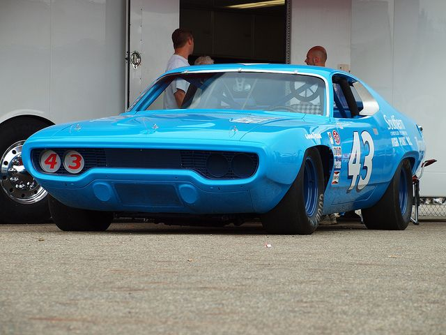 1971 Plymouth Roadrunner - Richard Petty 43. This was my favorite stock car as a child. I raced my AFX slot car version day and night.