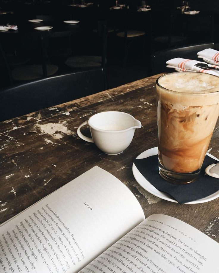 Books & Coffee - The perfect morning! #Cozy #Reading #Coffee