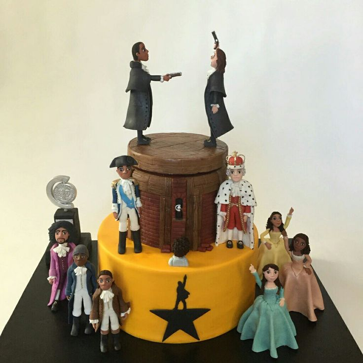 """This cake though! """"Look around, look around at how lucky we are to be alive right now!"""""""