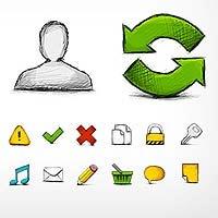 Web icons, free icons