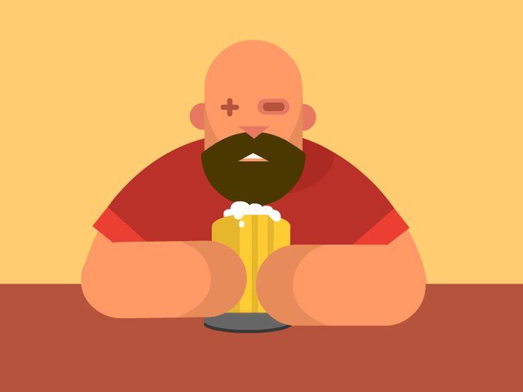 Cheers by mustafa kural Can't get enough of this wonderful beer.   Gif   Pinterest   Cas, Cheer ... Animated Beer Cheers