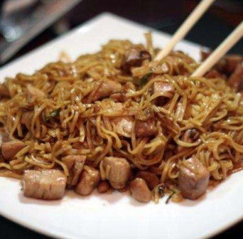 Рецепт китайской лапши с курицей и овощами