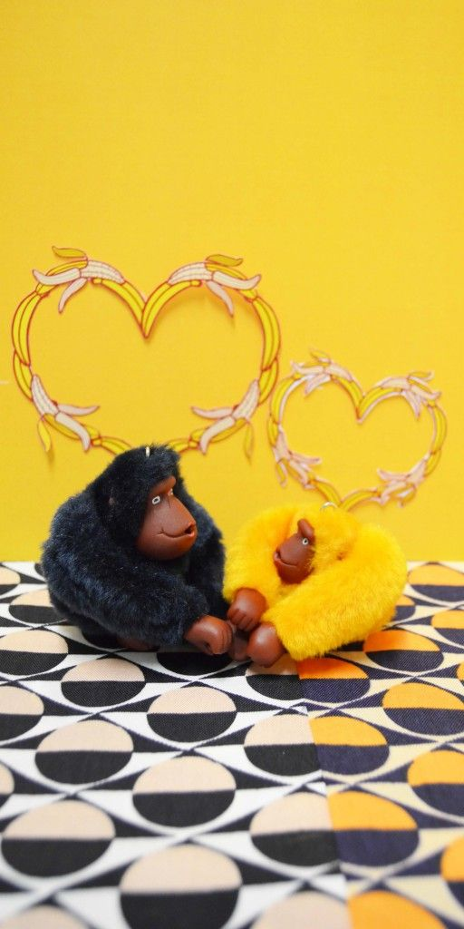 This Spring, our Kipling monkeys go on a romantic get away for Valentine's Day