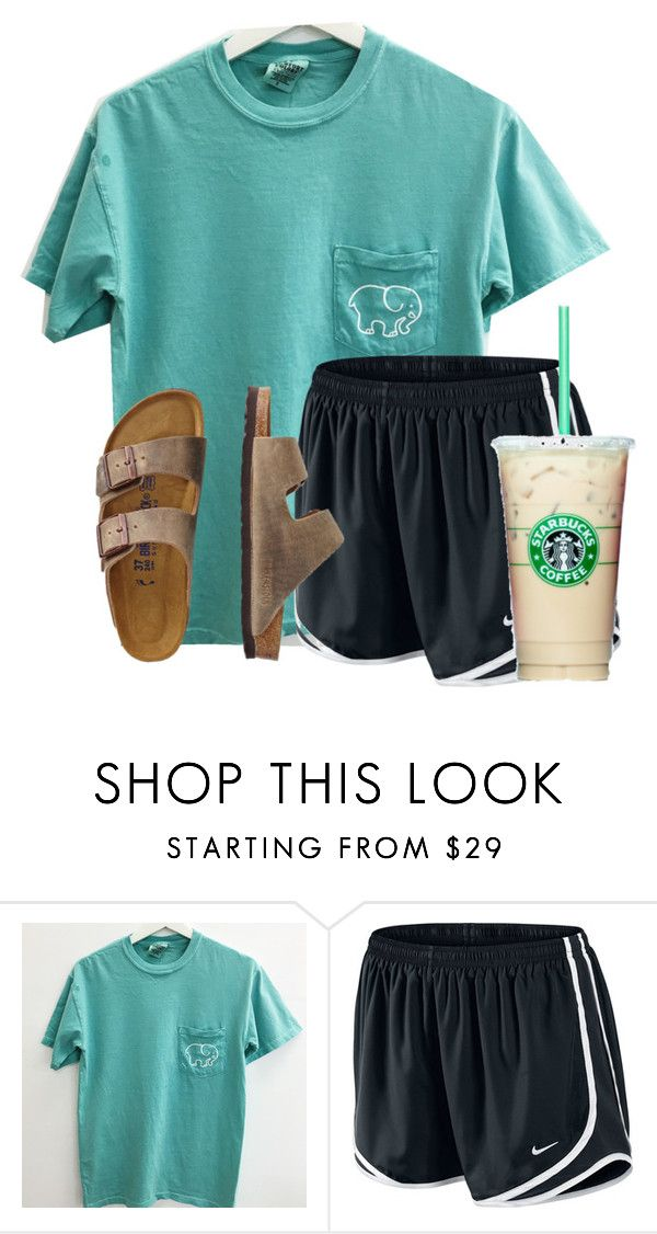 """Casual Florida day"" by flroasburn on Polyvore featuring NIKE and TravelSmith"