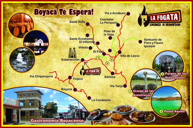 Provincia de Ricaurte del departamento de Boyacá, está ubicado a 40 km al oeste de Tunja la capital del departamento.